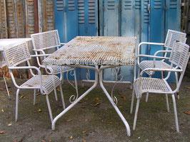 antike Gartenmöbel aus Frankreich Lochblech nr 2004