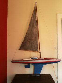 Großes altes Modell Segelschiff Nr 2002