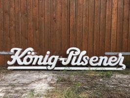 alte Leuchtreklame Schriftzug König-Pilsener