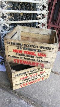 alte Holzkisten Whisky Kisten aus New York