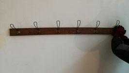 alte antike Garderobenleisten Hakenleisten Garderobe 140 cm Nr 1410