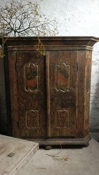 alter Kleiderschrank Barock Barockschrank mit sehr schöner Patina Nr 1907