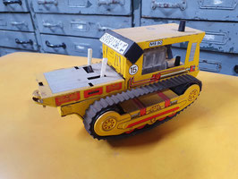 alter Bulldozer aus Metall 0705