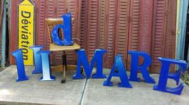 Vintage Leuchtbuchstaben ca 44 cm hoch Nr 3005