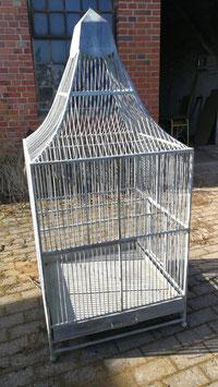 Riesiger alter Vogelkäfig Vogelbauer Voliere Nr 1203