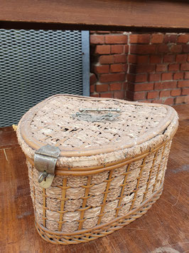 kleines antikes Körbchen Nähkorb Picknickkorb um 1900 Nr 0710