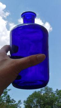 Apothekerflaschen blau