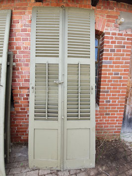 1 Paar alte Fensterläden Türläden Nr 0110-04