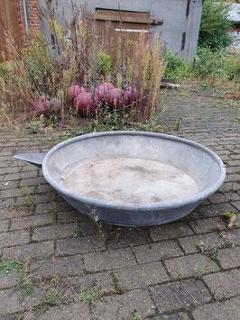 Riesiges altes Becken Zinkwanne 100 cm