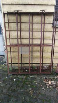 alte Eisenfenster Gitter Nr 1501-02