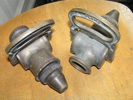 1 Paar antike Feuerwehr Spritzen Messing