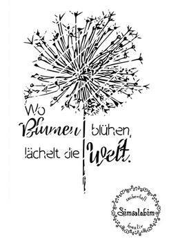 """Set Plottdateien """"Wo Blumen blühen"""" und """"Make a wish"""""""