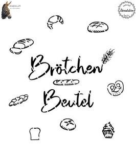 Plottdatei Brötchen-Beutel