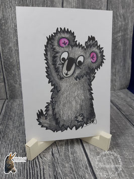 Digistamp Koala Rücken