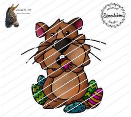 Hamster Harry hamstert Ostereier
