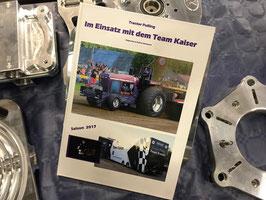 Team Kaiser Buch der 2017er Saison