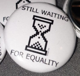 "Button ""still waiting for equality!"""