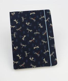 Notizbuch  Libellen mit Pfeilen