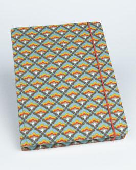 Notizbuch Blüten geometrisch