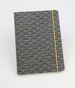 Notizbuch  Seigaiha - Wellen