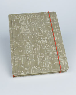 Notizbuch Schnittmuster