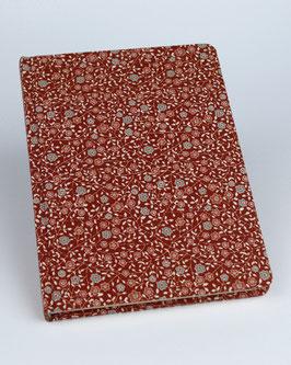 Notizbuch Blümchen rot