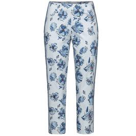 Stehmann Hose blau mit seitlichem Streifen