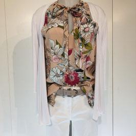 Esqualo-Bluse mit Blumen Gr. 44