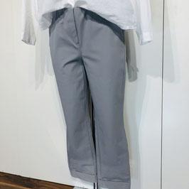Hellgraue Stehmann-Hose aus festem Stoff - Größe 36