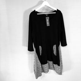 Schwarz/graue Tunika mit Taschen / Vincenzo Allocca