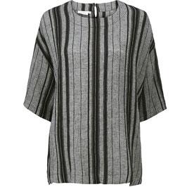 Grau-schwarze Shirt Bluse von Masai
