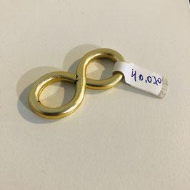 Infinity-Knoten in Gold für Halstücher