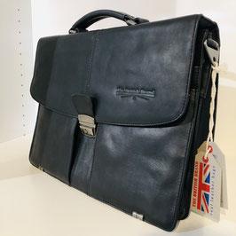 Schwarze Aktentasche / Businesstasche