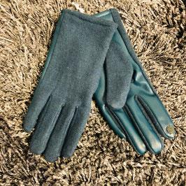 Petrol-türkis-farbene Handschuhe