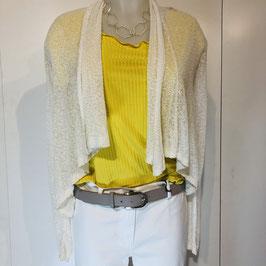 Feine weiß/eierschalenfarbige Jacke der Marke DIVA