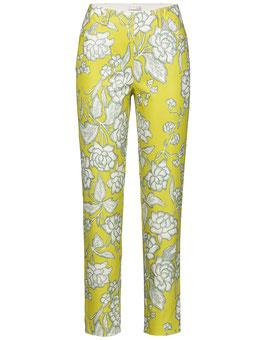 Gelb-weiße Stehmann Hose Inula