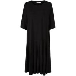 Lockeres Schwarzes Jersey-Kleid von Masai