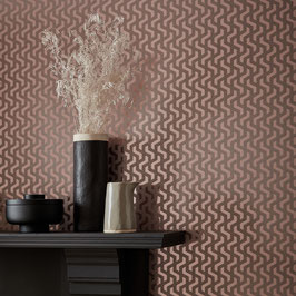 Rattan Foil col. Rose Gold
