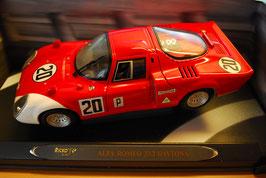 1:18 Alfa Romeo 33.2 Daytona rot