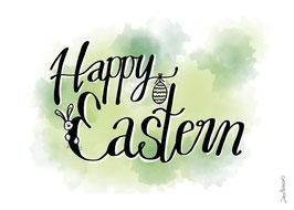 """Postkarte """"Happy Eastern"""""""