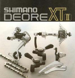 Kpl. Komponenten Gruppe Shimano Deore XT 1989 OCC.