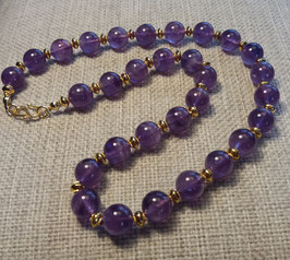 'Amethystos' necklace