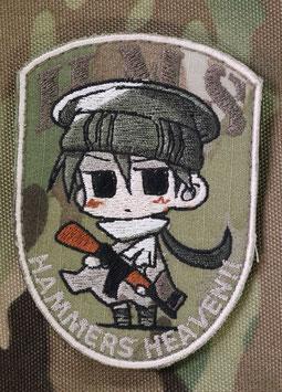 ハンマーズオリジナルマスコット刺繍パッチ ぱむこ