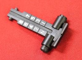 LCT AK800mリアサイト