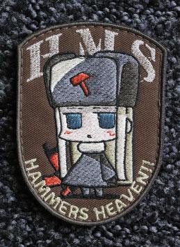 ハンマーズオリジナルマスコット刺繍パッチ ちぇるの