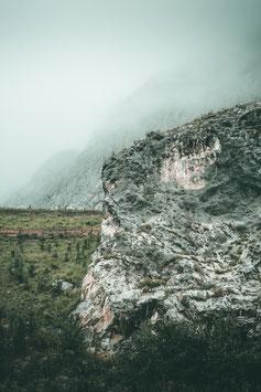 Karwendel im Nebel