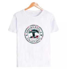 T-Shirt Damen Baum pink