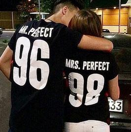 T-Shirt MR. / MRS Perfect