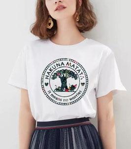 T-Shirt Damen HM Tree
