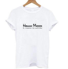 T-Shirt Damen Hakuna Matata
